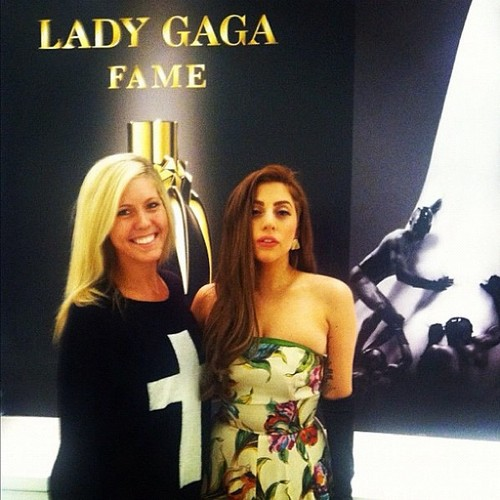 Gaga at Macy's in Chicago