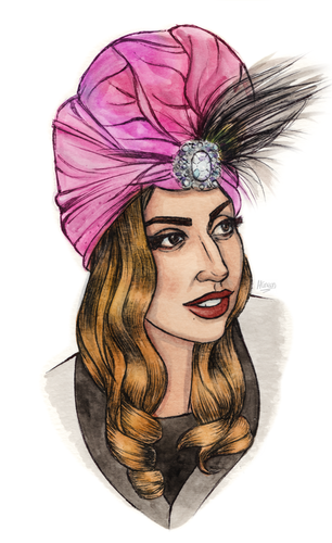 Gaga by Helen Green (dollychops.tumblr.com)