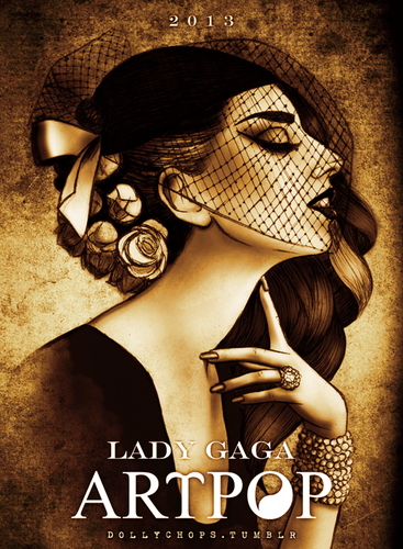 Gaga by Helen Green (dollychops.tumblr.com) - lady-gaga Fan Art