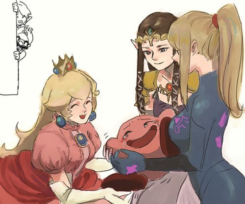 Girls love Kirby