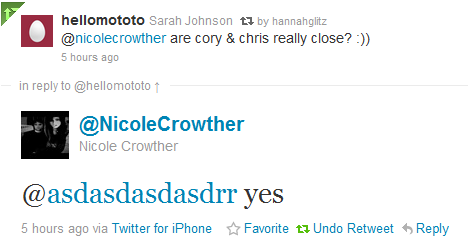 Glee writer confirms the close friendship of Monfer!!!!
