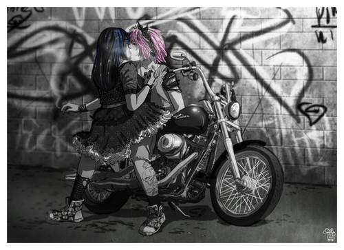 Goth Rachel/ Skank Quinn