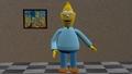 Grandpa Simpson - 3D model