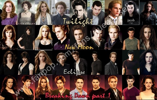 Hale to the Cullens shabiki art