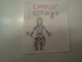 Hand-drawn Connor Kenway - assassins-creed fan art