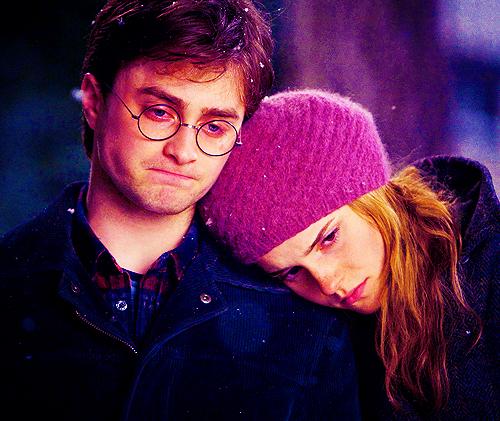 Resultado de imagen para Harry y Hermione