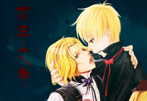 hetalia - axis powers Vampire