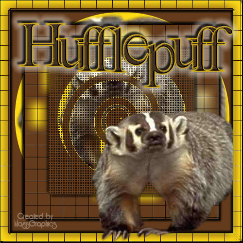 Hufflepuff wallpaper probably with a badger called Hufflepuff