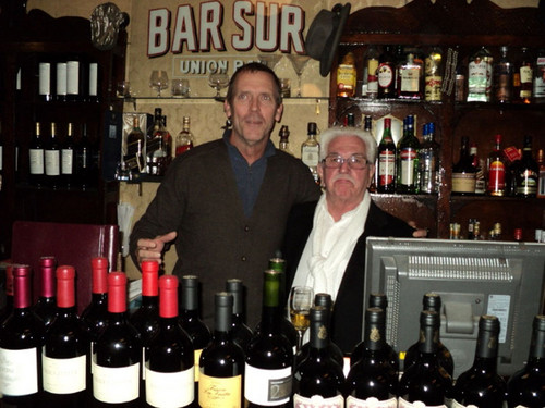 Hugh Laurie at Bar Sur, Buenos Aires, Argentina 09.06.2012