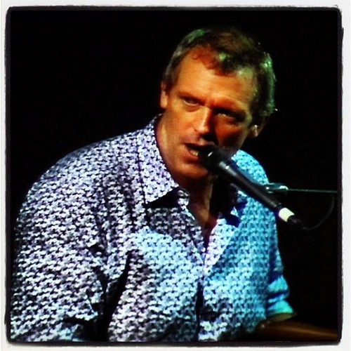 Hugh Laurie- concierto The Paramount Huntington 11.09.2012