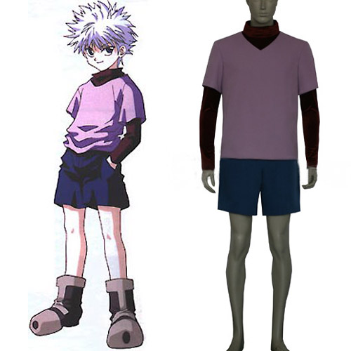 Hunter X Hunter Killua Zaoldyeck Cosplay Costume