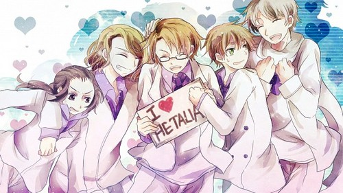 Hetalia wallpaper with anime entitled I love Hetalia