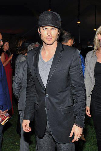 Ian @ Artists For Peace and Justice in Toronto - ian-somerhalder Photo