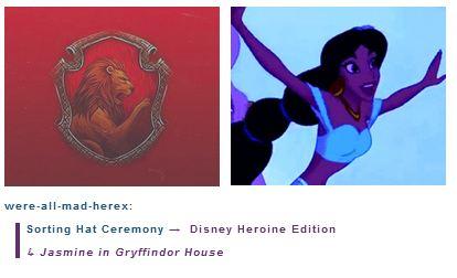 melati, jasmine is in Gryffindor House