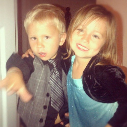 Jazzy and jaxon , bieber, 2012