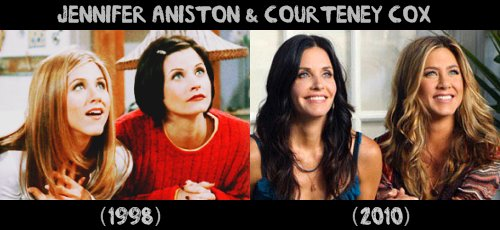 Jennifer & Courteney