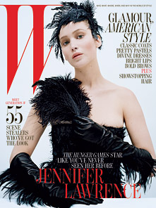 "Jennifer covers ""W"" magazine - October 2012."