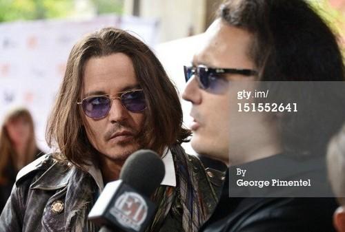 Johnny Depp TIFF