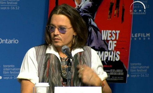 Johnny @ TIFF 2012