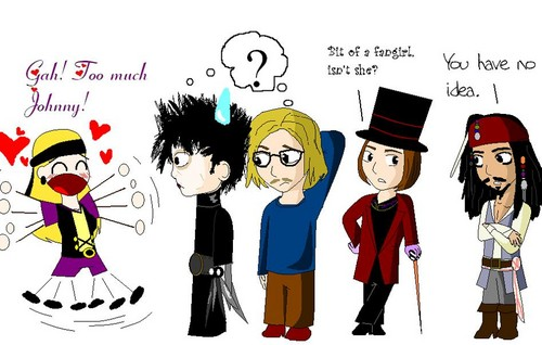 Johnny's characters<3