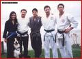 Karate Courteny & David - david-and-courteney-cox-arquette photo