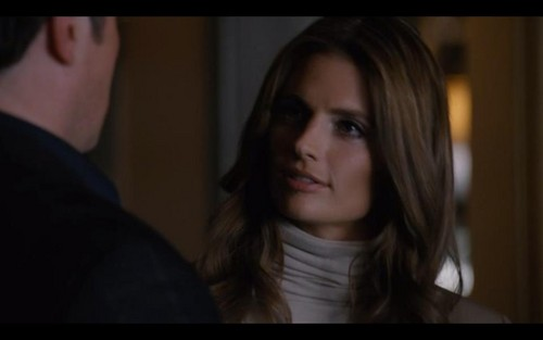 Kate Beckett karatasi la kupamba ukuta probably containing a portrait called Katherine Beckett
