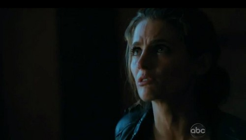 Kate Beckett karatasi la kupamba ukuta containing a portrait called Katherine Beckett