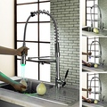Kitchen Faucet with Color Changing LED Light ( Chrome Finish )