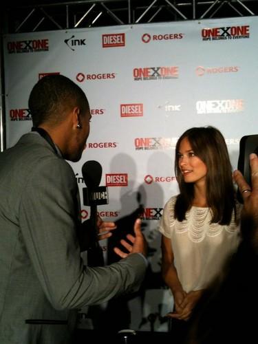 Kristin at OneXOne Event (September 2012)