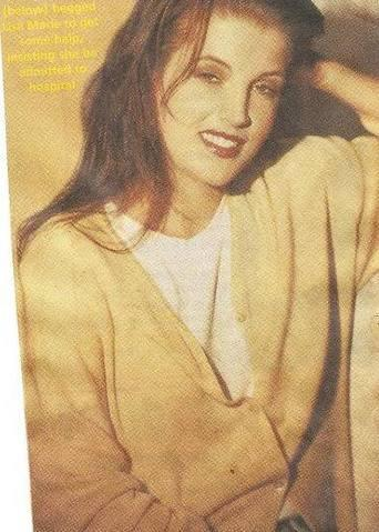 lisa marie presley wallpaper containing a portrait called LMP 1994