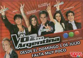 The Voice wallpaper possibly with anime called La voz argentina