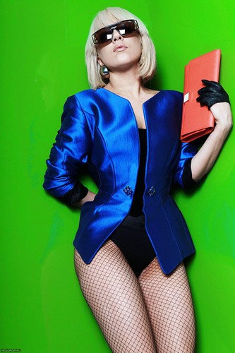 Lady gaga-Frank Lench Loter photoshoot 2009 (New Outtake Photo)