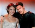 Lauren Cohan and Alex Meraz