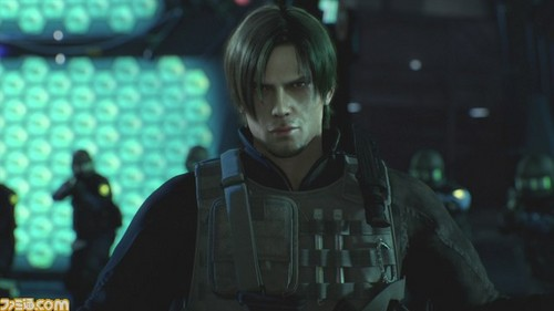 Leon Kennedy 바탕화면 possibly with a 음악회, 콘서트 called Leon - RE Damnation movie