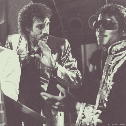 Lionel Richie and Michael Jackson ♥♥