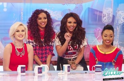 """Little Mix appear on """"Loose Women"""" - 07/09/12."""
