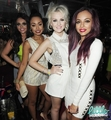 Little Mix celebrating at The Rose Club in Londra - 4th September 2012.
