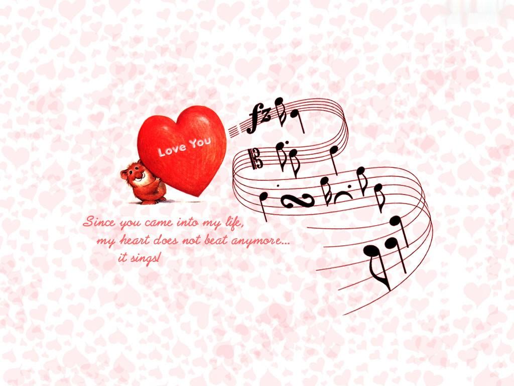 Love Wallpaper With Title : Love - Love Wallpaper (32154919) - Fanpop