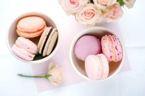 Food wallpaper probably containing a cupcake titled Macaroons