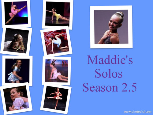 Maddie's Season 2.5 Solos Collage