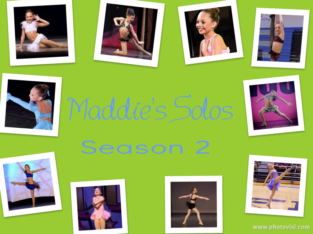 Maddie's Season 2 Solos Collage