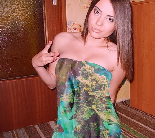 Marijuana dress