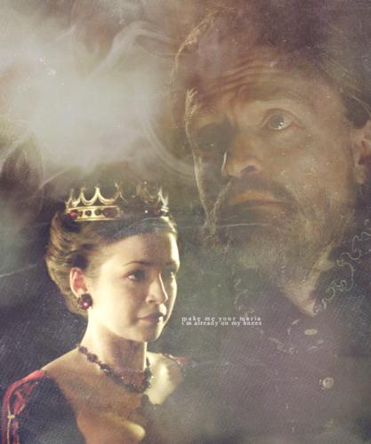 Mary Tudor and Eustace Chapuys