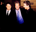 Matthew with Matt & David - matthew-perry photo
