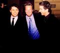 Matthew with Matt & David