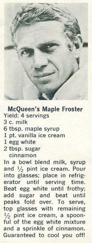 McQueen's bordo, maple Froster