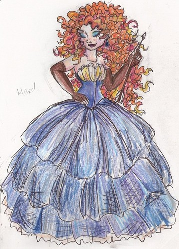 Merida-Designer Series - disney Photo