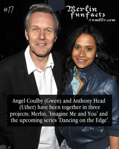 Merlin Fun Facts : ASH and Angel - arthur-and-gwen Photo