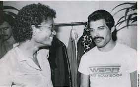 Michael And Good Friend, Freddie Mercury