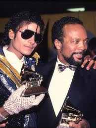 Michael And Quincy Jones At The 1984 Grammys